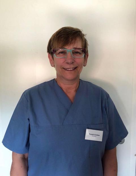 Manuela Gramkow: seit 2016 Verwaltung und Rezeption, Manu´s Tiersiittedienst